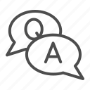 ask, concept, question icon
