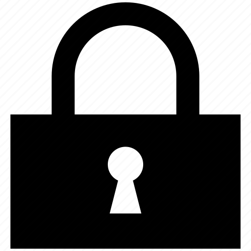 icon, lock, password, protection, secure, security icon