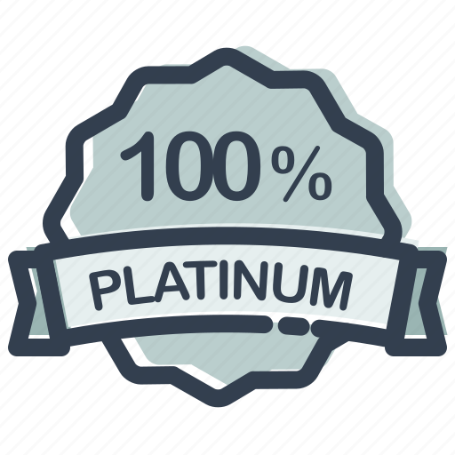 ecommerce, label, percent, platinum, sale, shopping, store icon