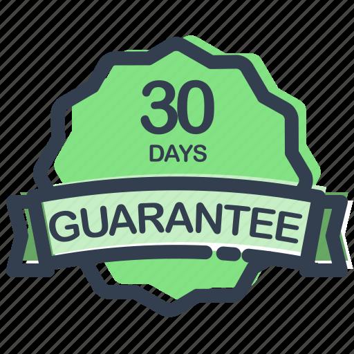 days, guarantee, label, prize, ribbon, sale, sticker icon