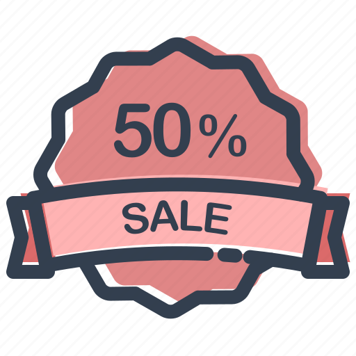 buy, ecommerce, offer, percent, sale, shop, shopping icon