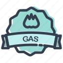 factory, gas, industry, tank icon