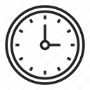 clock, time, wait, watch icon