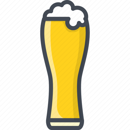 alchohol, beer, beverage, food, glass icon