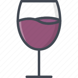 alchohol, beverage, food, glass, wine icon