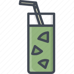 alchohol, beverage, food, glass, juice, lemonade icon