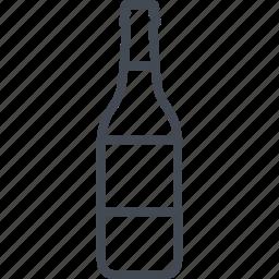 alchohol, beer, beverage, bottle, food icon