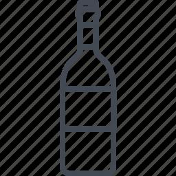 alchohol, beverage, bottle, food, wine icon