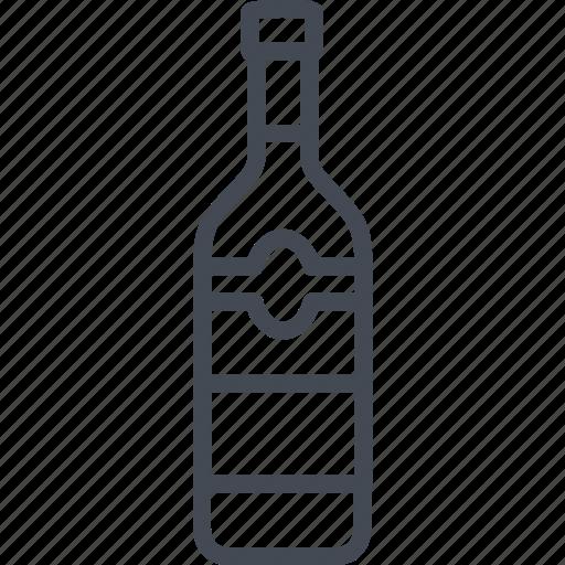 alchohol, beverage, bottle, food, vodka icon