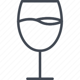 alchohol, beverage, champagne, food, glass, wine icon