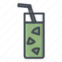 alchohol, beverage, food, glass, juice, sticker icon
