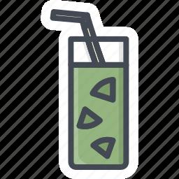 alchohol, beverage, food, glass, juice, sticker icon