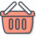 basket, business, ecommerce, shop, shopping icon