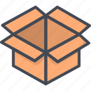 box, business, delivery, ecommerce, package, shop icon