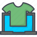 business, ecommerce, shop, t-shirt, web icon
