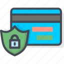 business, card, ecommerce, security, shop icon