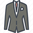 business, man, meeting, suit icon