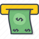 atm, bank, business, cash, finance, money icon