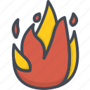 fighter, fire, job, service, sign, work icon