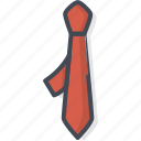man, necktie, office, tie, work icon