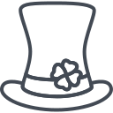 day, hat, holiday, patricks, saint, shamrock icon