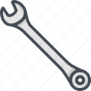 renovation, repair, service, spanner, tool, work icon