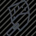 cement, renovation, repair, service, tool, trowel, work icon
