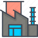 business, factory, startup icon