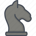 business, chess, knight, startup icon