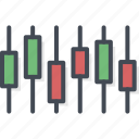 business, chart, trading icon
