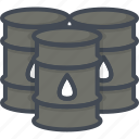 barrel, business, oil, trading icon