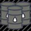 barrel, business, oil, trading icon