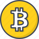 bitcoin, business, coin, crypto, currency, trading icon