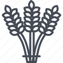 agriculture, business, commodities, trading, wheat icon