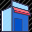 building, shop, structure