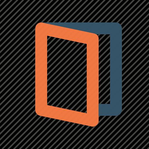 Brochure, flyer, promotion icon - Download on Iconfinder