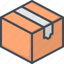 box, delivery, package, service, work icon