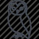 animal, halloween, holiday, owl icon