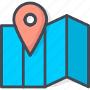 business, map, pin, seo, targeting, web icon