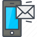 contacts, mail, phone, service, support icon