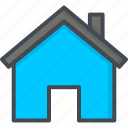 contacts, home, service, support icon