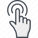 click, contacts, cursor, mouse, service, support icon