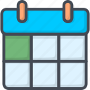 calendar, contacts, service, support icon