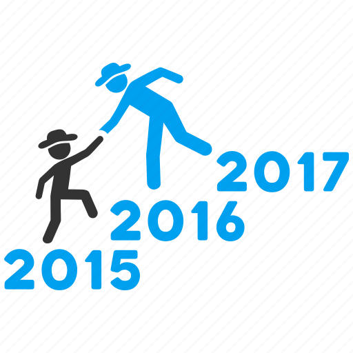 annual, business help, education, guys, training, year 2016, years icon