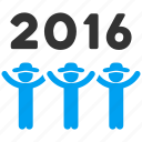 dance, event, group, party, people, play, year 2016 icon