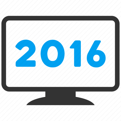 computer, desktop, display, monitor, pc, screen, year 2016 icon