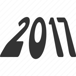 2017 year, future, label, message, new year, perspective, text icon