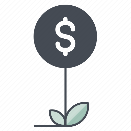business, dollar, earning, growth, money, profit, success icon
