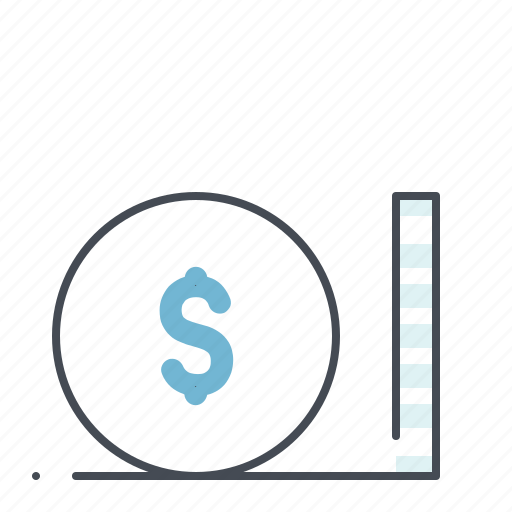 accounting, business, dollar, earning, finance, money, scale icon