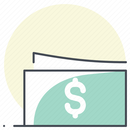 accounting, business, cash, dollar, economy, finance, money icon